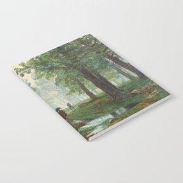 "Ivan Shishkin ""Rain in the oak forest"" Notebook"