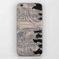 lotr iPhone & iPod Skins featuring On the way (The Fellowship of the Ring, LOTR) by Blanca MonQnill Sole