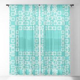 "CA Fantasy ""For Tiffany"" series #9 Sheer Curtain"