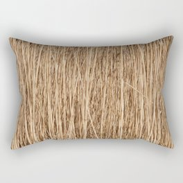 Thousands of reeds Rectangular Pillow