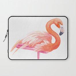 Flamingo watercolor Laptop Sleeve
