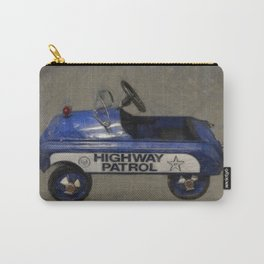 Highway Patrol Pedal Car Carry-All Pouch