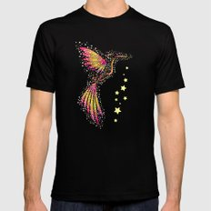 Bubble Bird 2 Mens Fitted Tee SMALL Black
