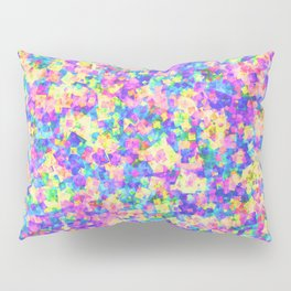 Rainbow Squares Pillow Sham