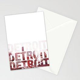 Detroit Landscape Stationery Cards