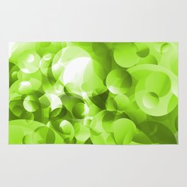 Bubbly Green Rug