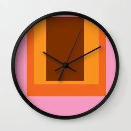 Abstract Color Combination No 45 Wall Clock