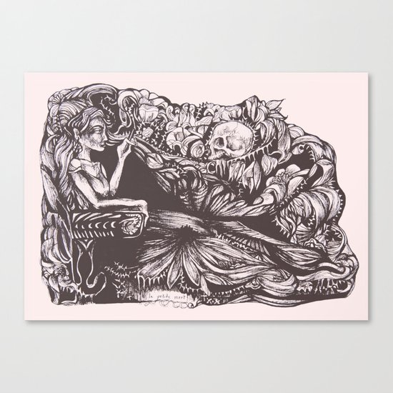 La Petite Mort Canvas Print