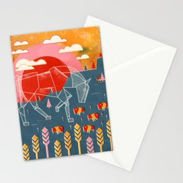 The White Horse Plain Stationery Cards