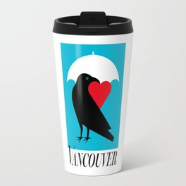 Vancouver's Canuck the Crow Travel Mug