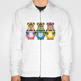 Chestnut Girl Matrioshkas Hoody