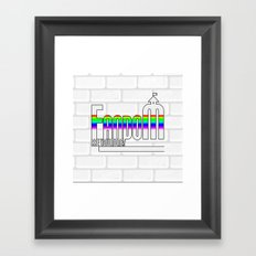 FANDOM Framed Art Print