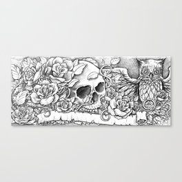 Unity in Death - sketch variant Canvas Print