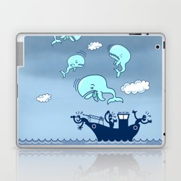 Where Have the Whales Gone? Laptop & iPad Skin