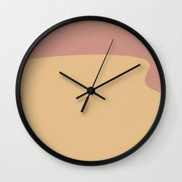 Modern Abstract Closure II Wall Clock