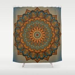 Moroccan sun Shower Curtain