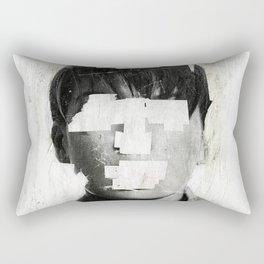 Faceless   number 02 Rectangular Pillow