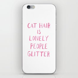 Cat Hair iPhone Skin