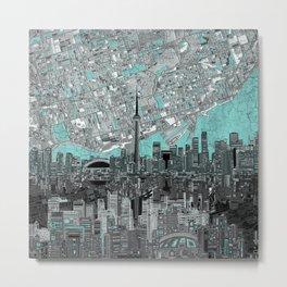 toronto city skyline Metal Print