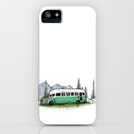 The Magic Bus iPhone Case