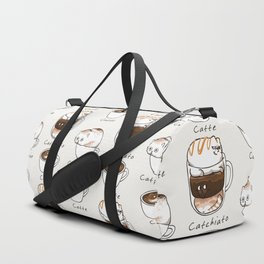 Coffee Right Meow Duffle Bag