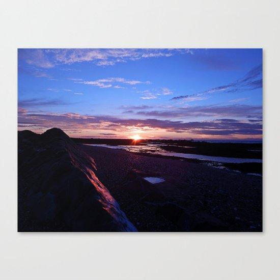 Beauty at the Beach Canvas Print