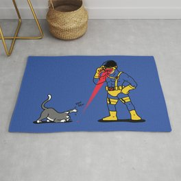 Cats & Lasers Rug