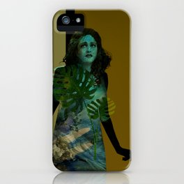 The Blue Girl iPhone Case