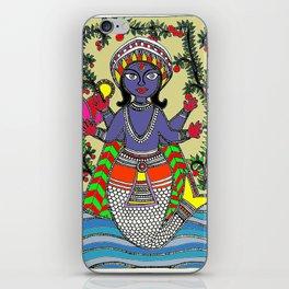 Matsya Avatar of the Hindu God Vishnu iPhone Skin