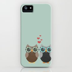 OWL LOVE YOU FOREVER Slim Case iPhone (5, 5s)