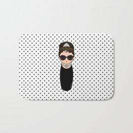 Kokeshi Audrey Hepburn Bath Mat