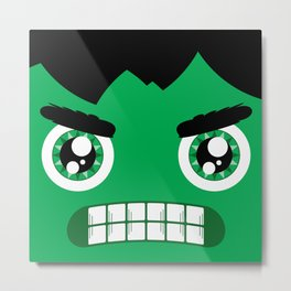 Adorable Hulk Metal Print