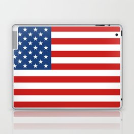 Classic Patriotic American Flag Illustration Laptop & iPad Skin
