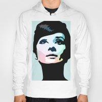 posters Hoodies featuring Audrey Hepburn Posters by Creativehelper