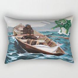 "Winslow Homer's ""Storm Warning"" Revisted Rectangular Pillow"