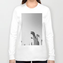 DINO / Cabazon Dinosaurs, California Long Sleeve T-shirt