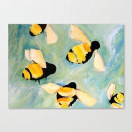 Bees Canvas Print