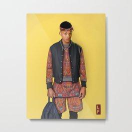 Fresh Prince of Bel Air - Modern Will Metal Print