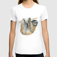 sloth T-shirts featuring Sloth by Susan Windsor