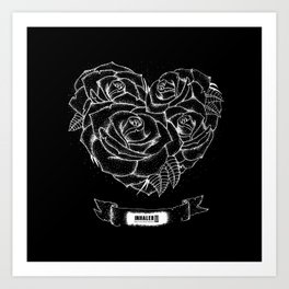 """Like roses, we blossom and die""- BMTH Art Print"