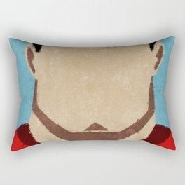 superman paint Rectangular Pillow