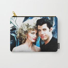 Sandy and Danny from Grease - Painting Style Carry-All Pouch