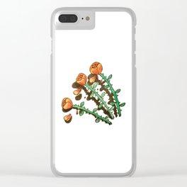 Shady Lady Clear iPhone Case