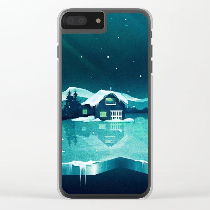 Frozen Magic Clear iPhone Case
