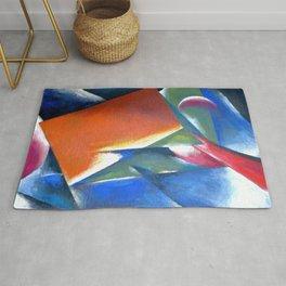 """Lyubov Popova """"Architectonic Painting"""" 4 Rug"""