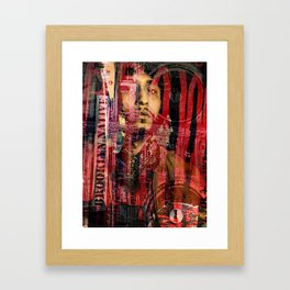 Cooper Square and Lafayette Framed Art Print