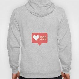 999,heart,love,like,j,adore,i,love,follow, sub Hoody