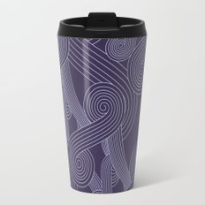 Quarian Swirls Travel Mug