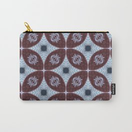 American Folk Red & Blue No. 06 Carry-All Pouch