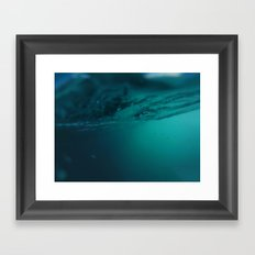 Enter Sea 2 Framed Art Print